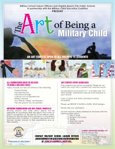 Month of Military Child Art Contest