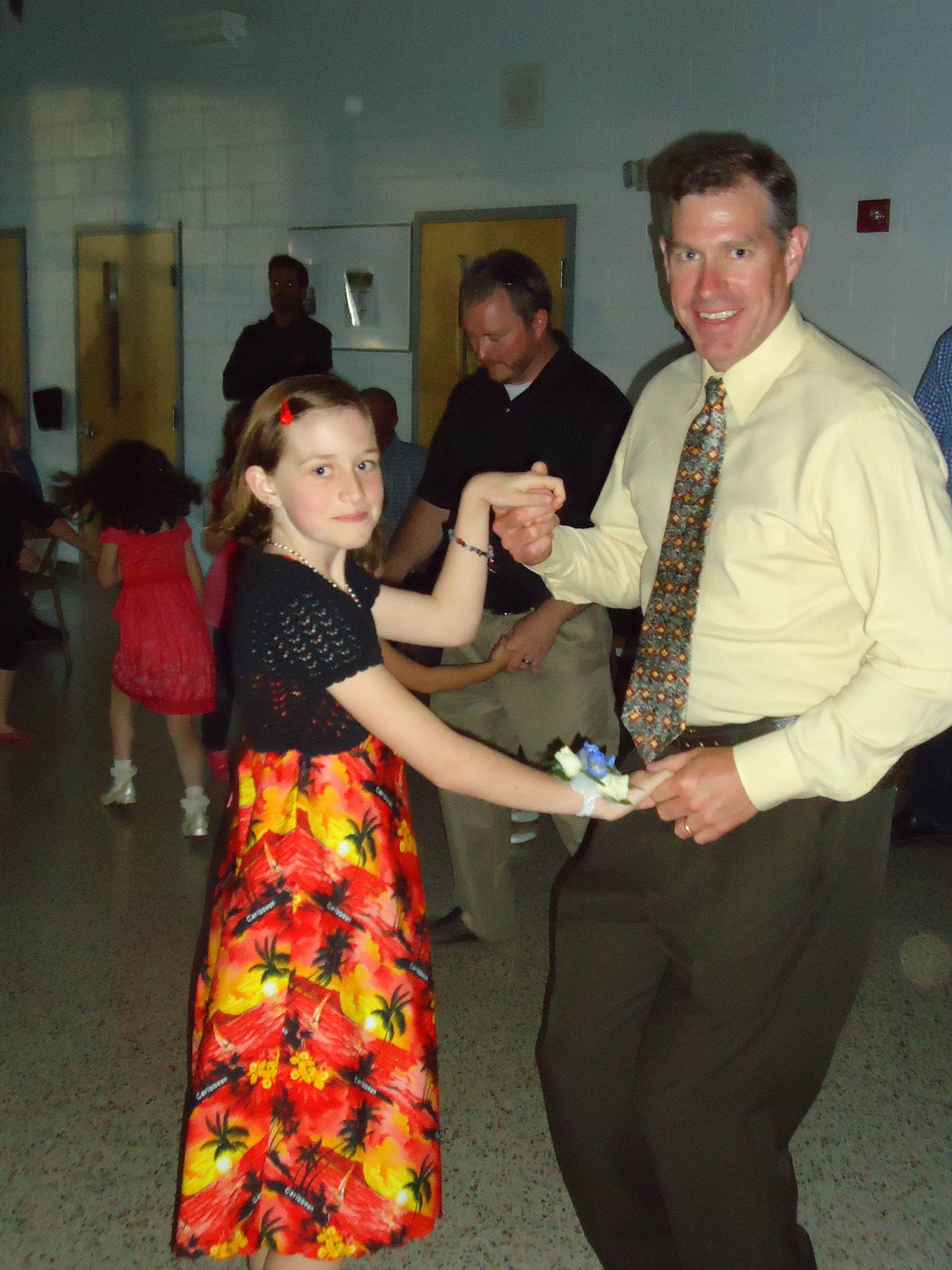 creeds delights with daddy daughter dance the core