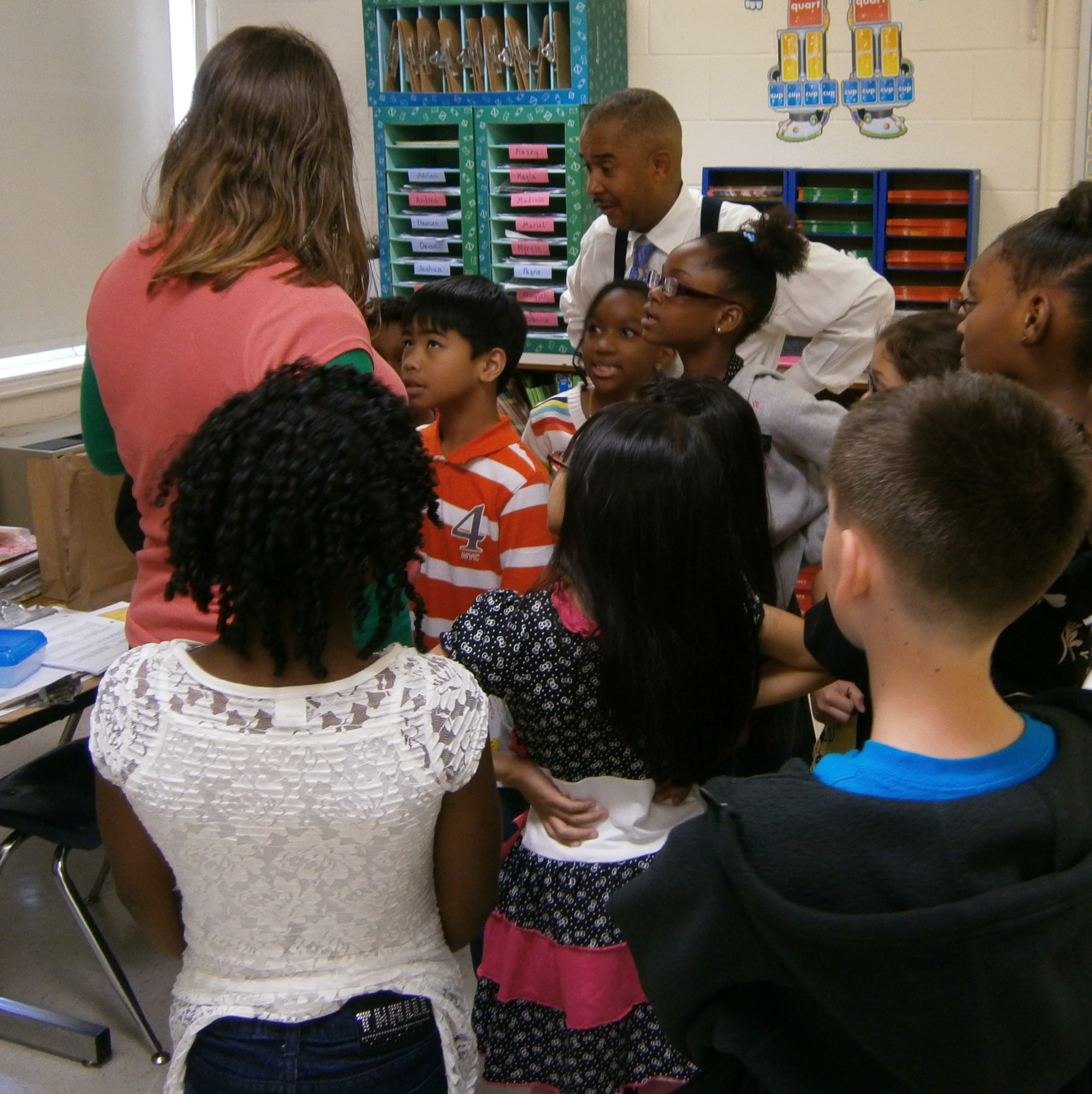 Rosemont Elementary had 2 teams of students participate in the citywide  Battle of the Books for