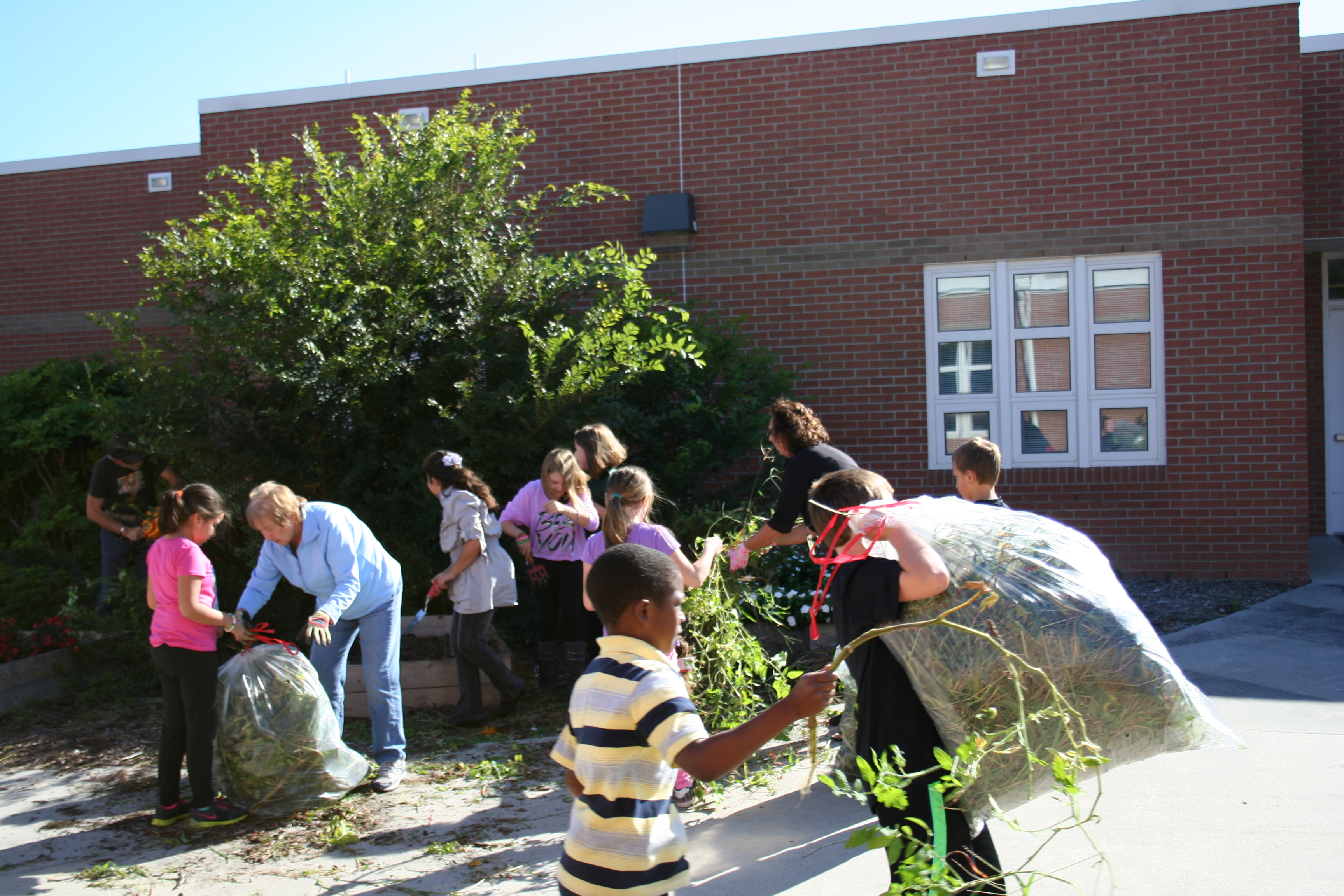 kempsville elementary students get their hands dirty u2013 core test
