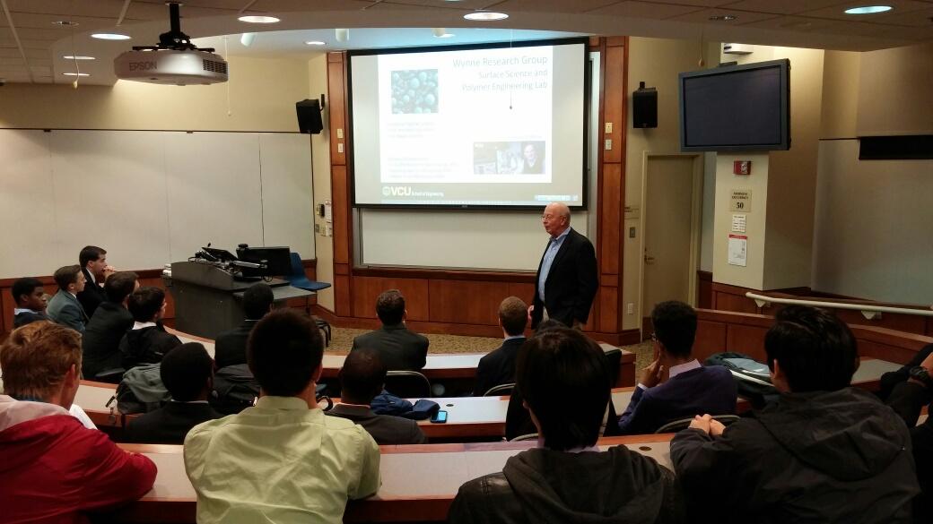 Dr Gupton at VCU