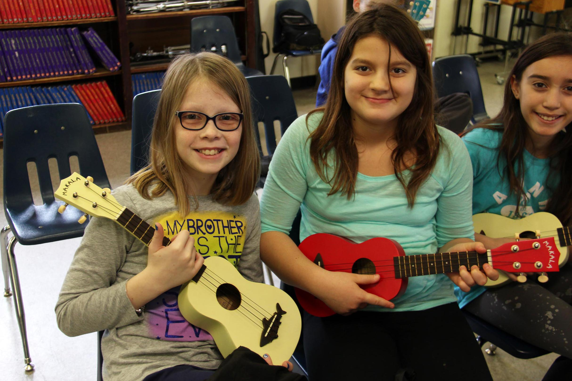 students w ukes 2