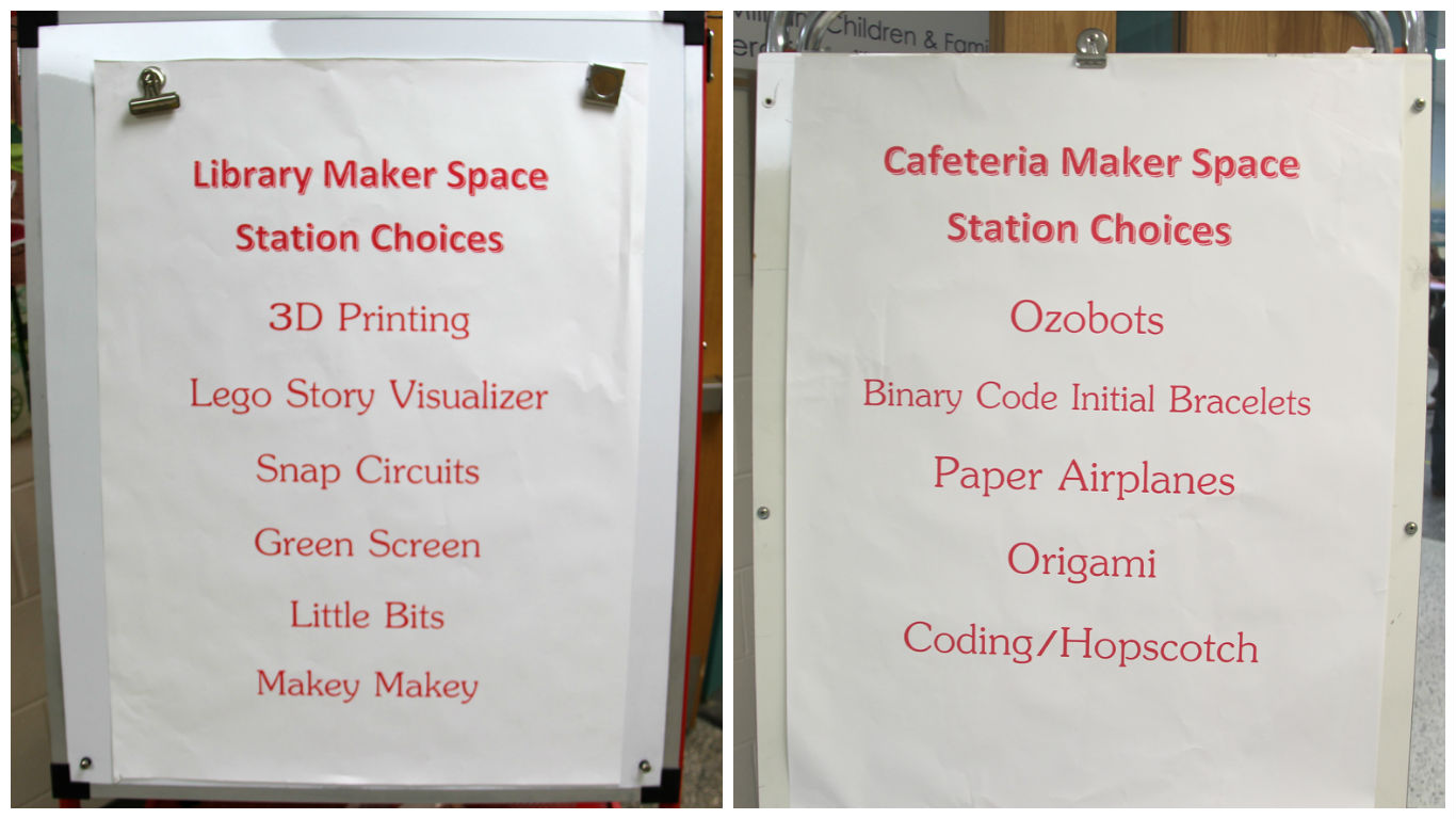 makerspace signs - The Core