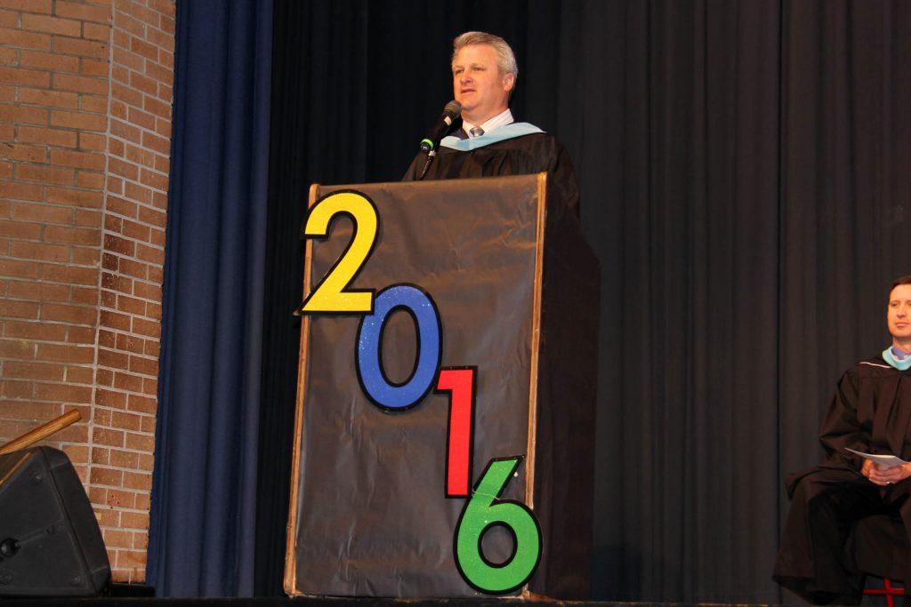 Varney podium