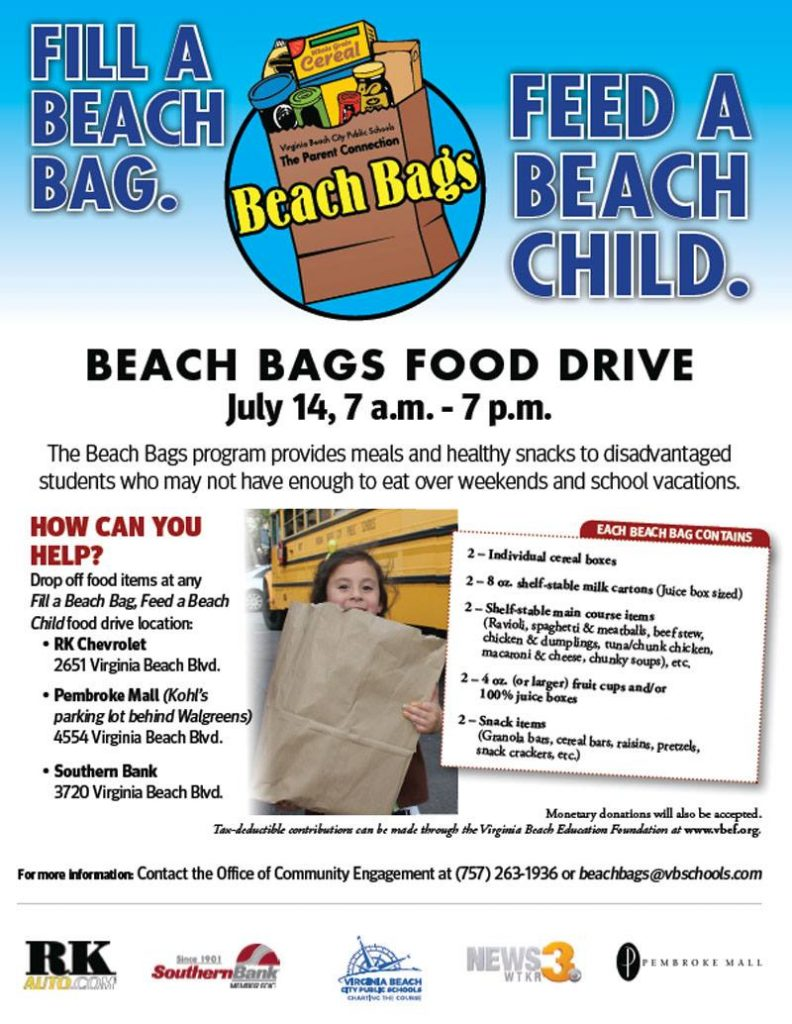 Beach Bag flyer