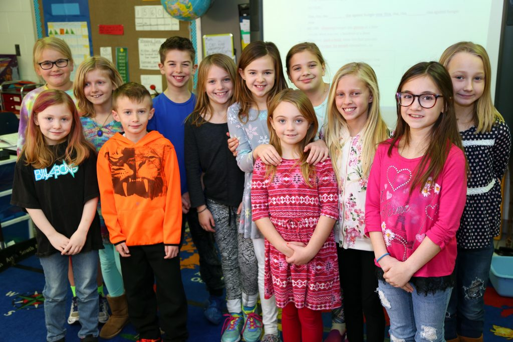 Strawbridge Elementary School's Rise Against Hunger chorus