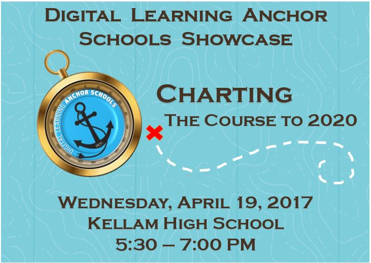 Anchor School Showcase invitation 2017