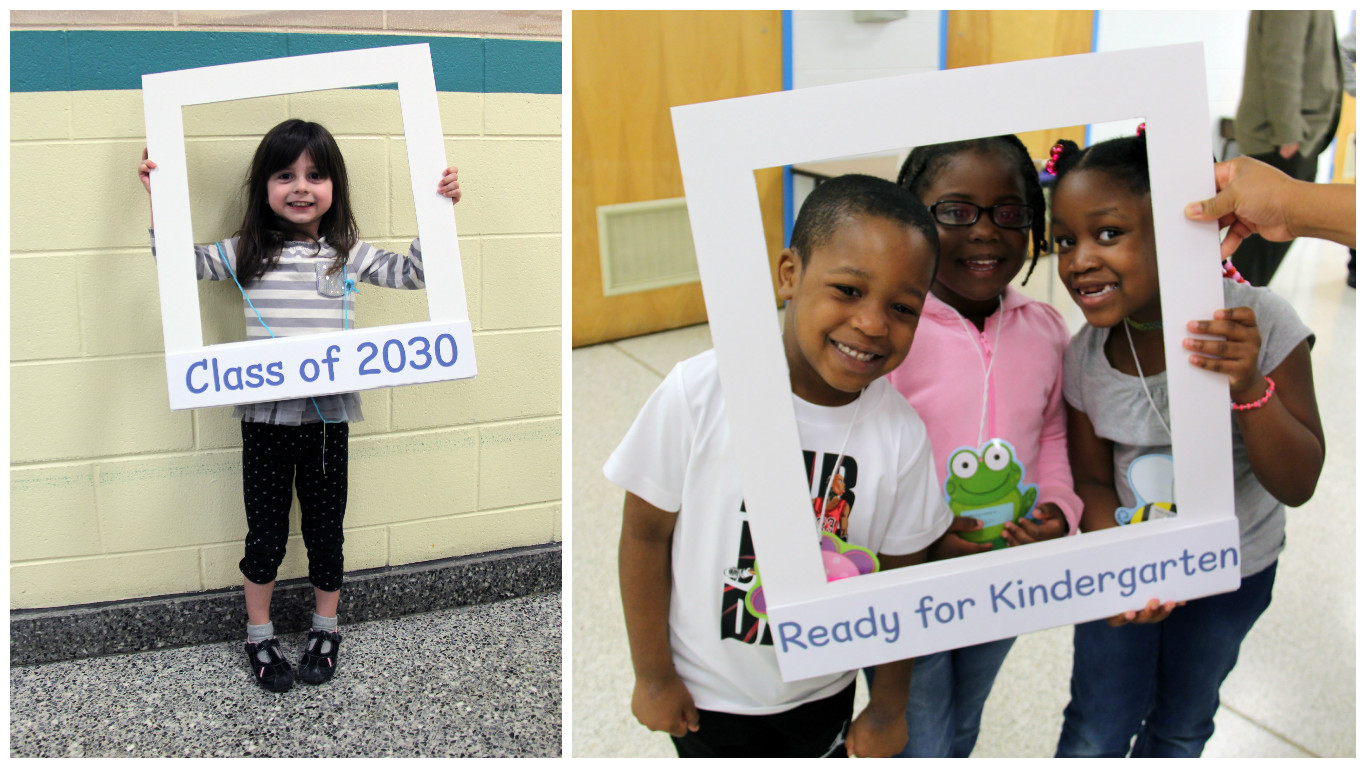 Class of 2030 collage