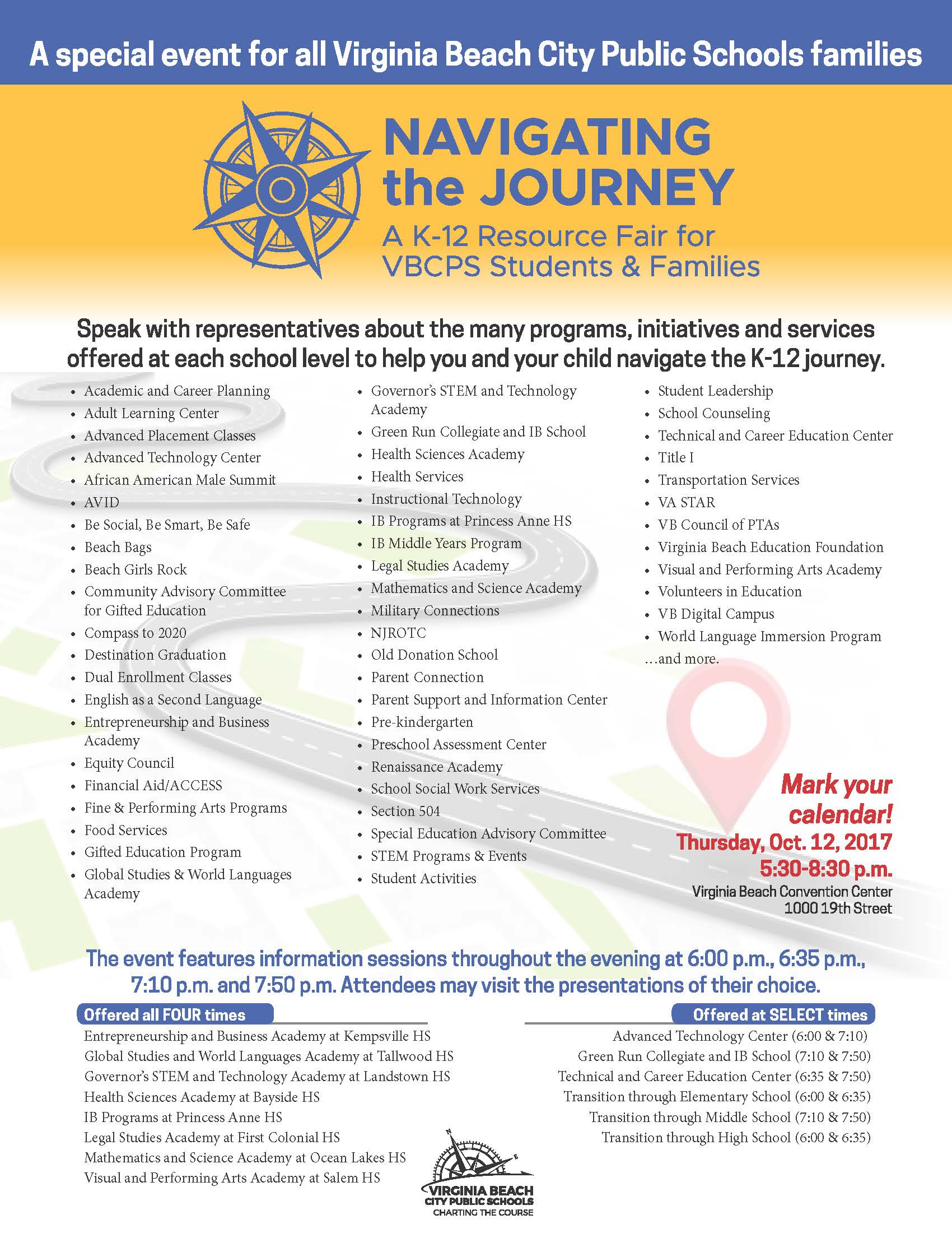 Navigating The Journey Showcases Prek 12 Programs And Services The