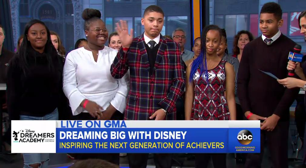 GMA Disney Dreamers Academy