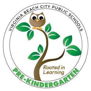 Virginia Beach City Public Schools Pre-Kindergarten Rooted in Learning logo