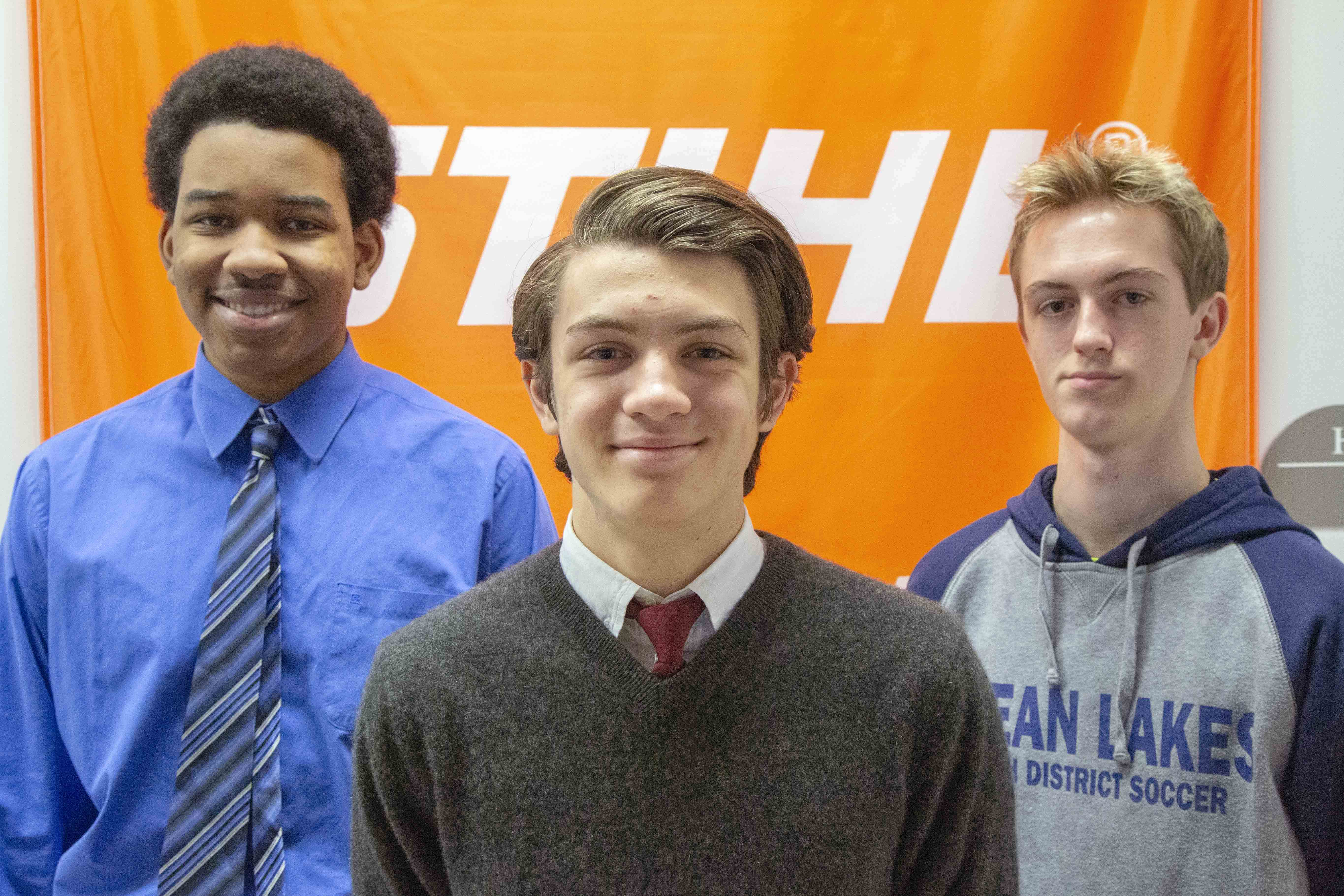 students intern with two top area businesses
