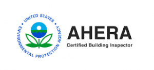 AHERA Certified Building Inspector United States Environmental Protection Agency