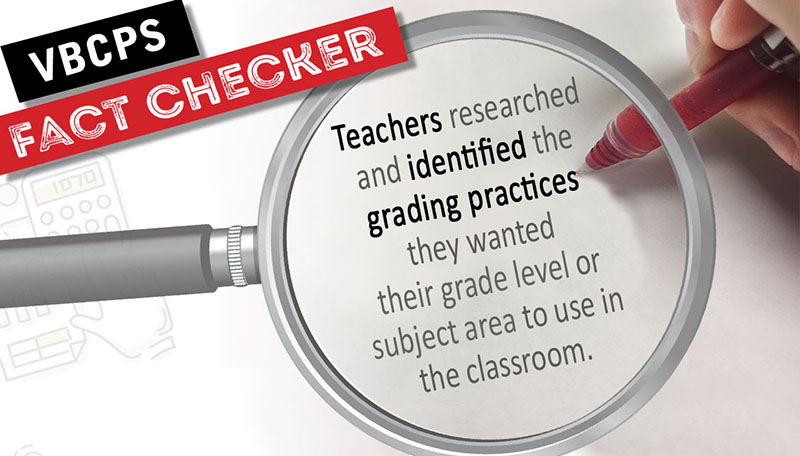 • Teachers identified the grading practices they wanted their grade level or subject area to use in the classroom.