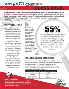 Download the VBCPS Class Rank Fact Sheet