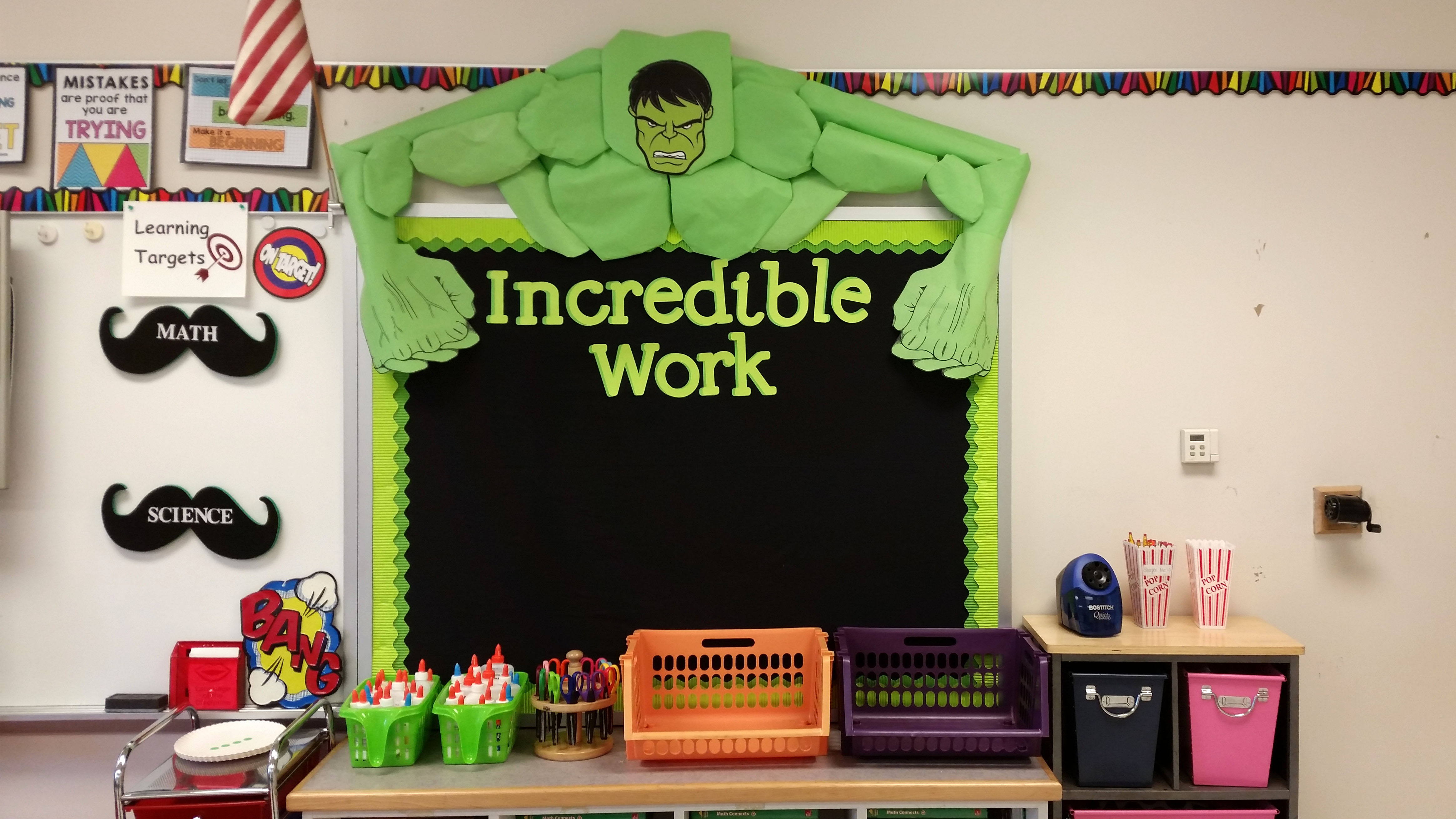 Linkhorn Park IncredibleHulkBulletinBoard