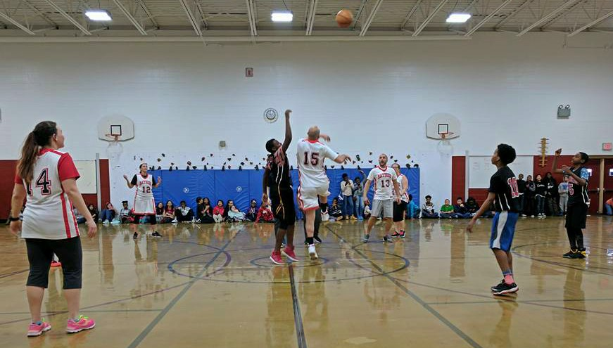 Bayside 6th Grade staff student game