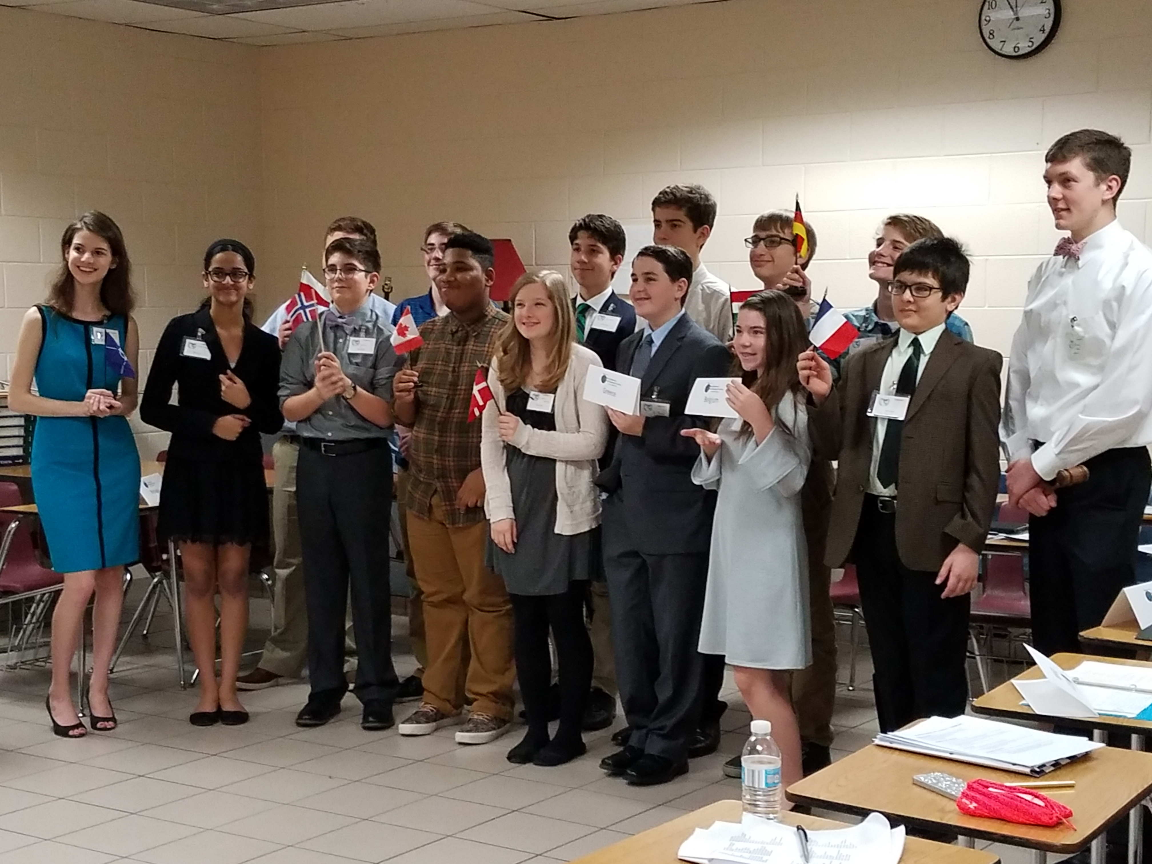 Old Donation School Model UN Feb. 25
