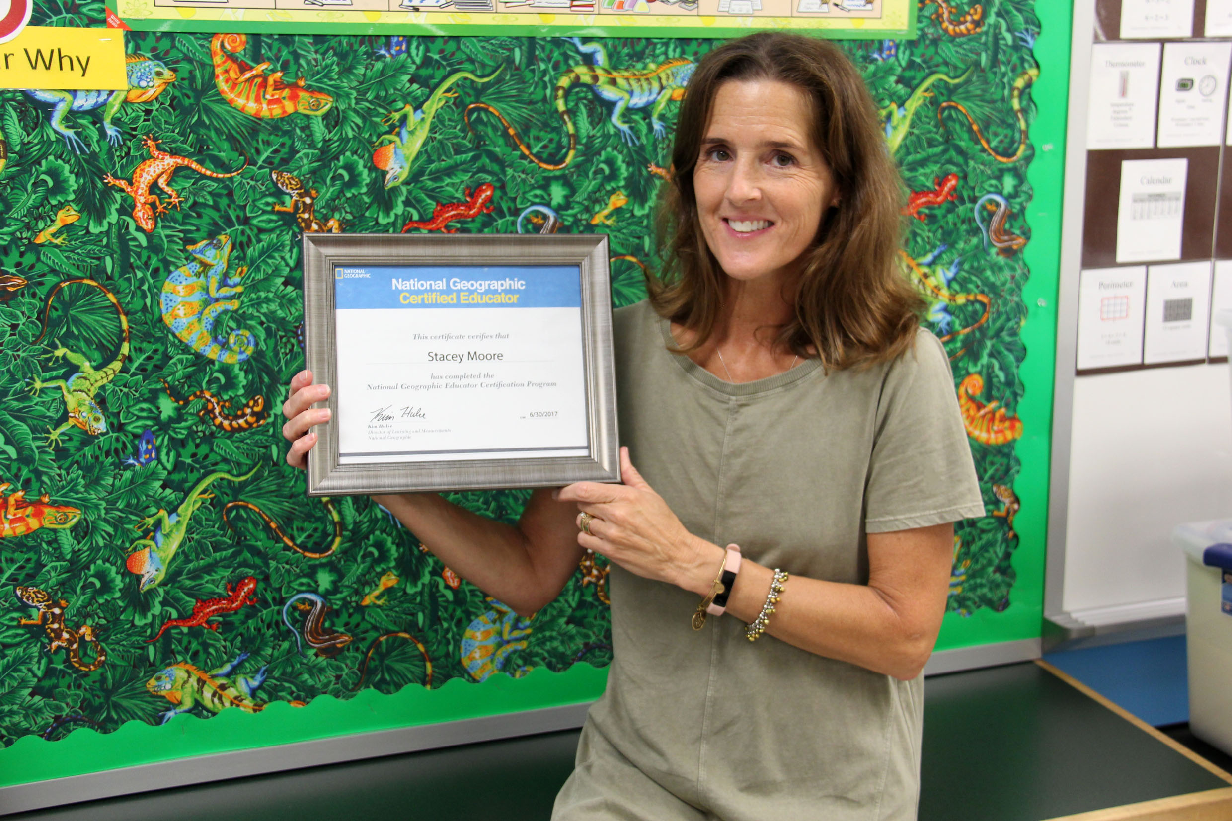Moore Becomes First Vbcps National Geographic Certified Educator