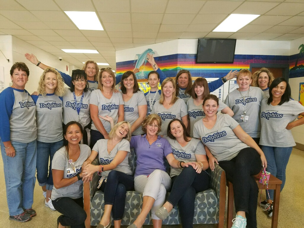 Centerville ES spirit wear first week