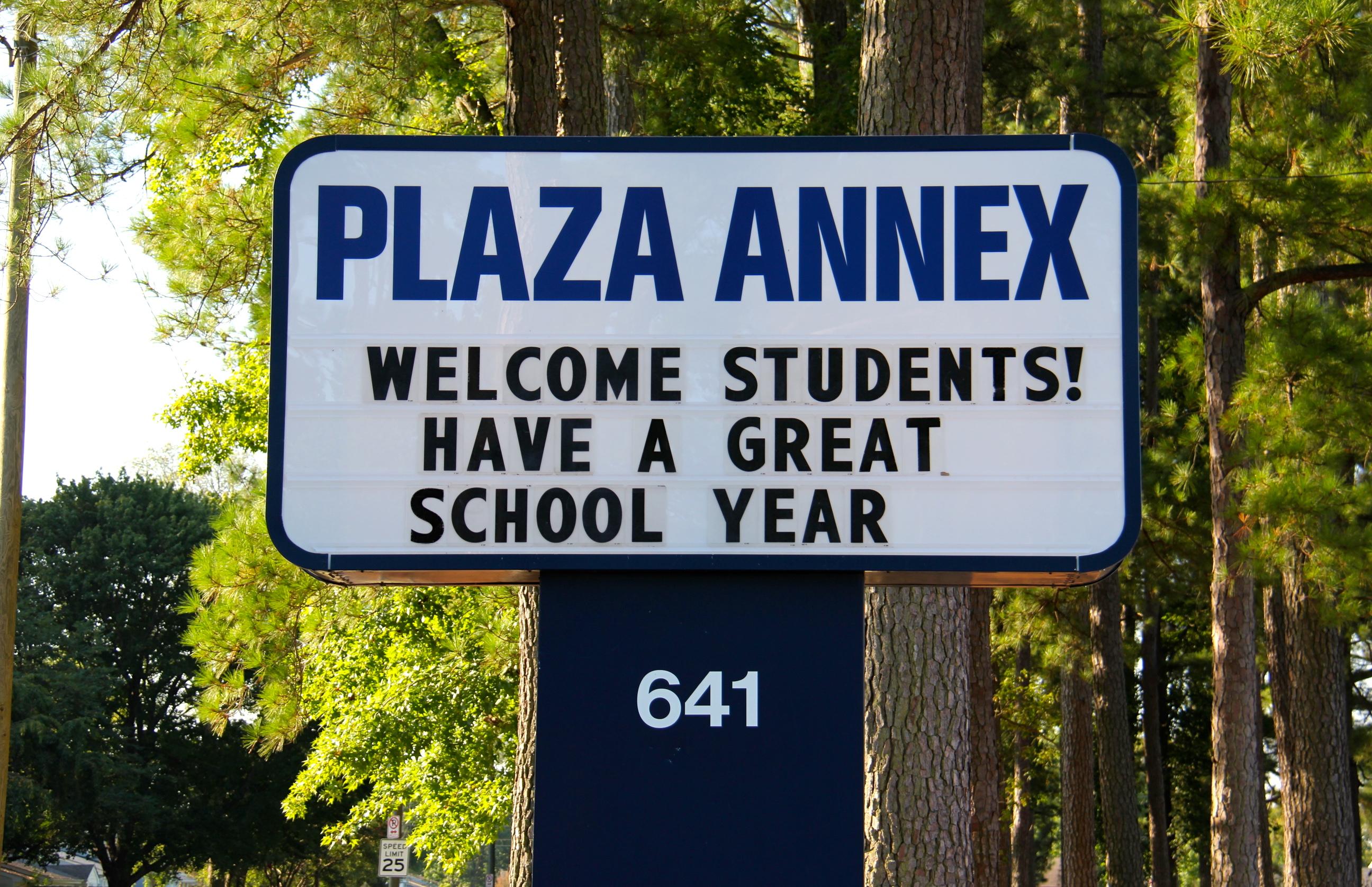 Plaza Annex marquee
