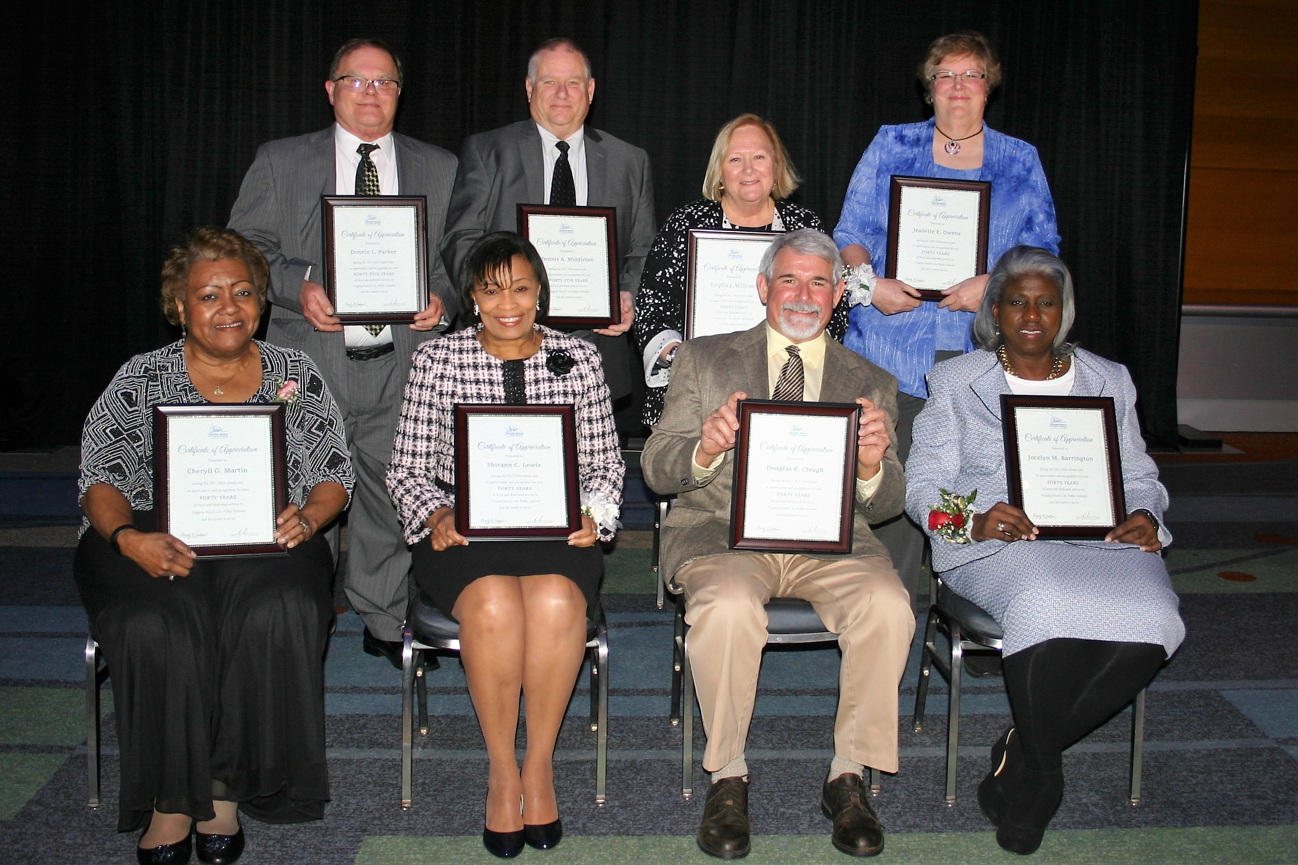 Division celebrates employees' decades of service to VBCPS