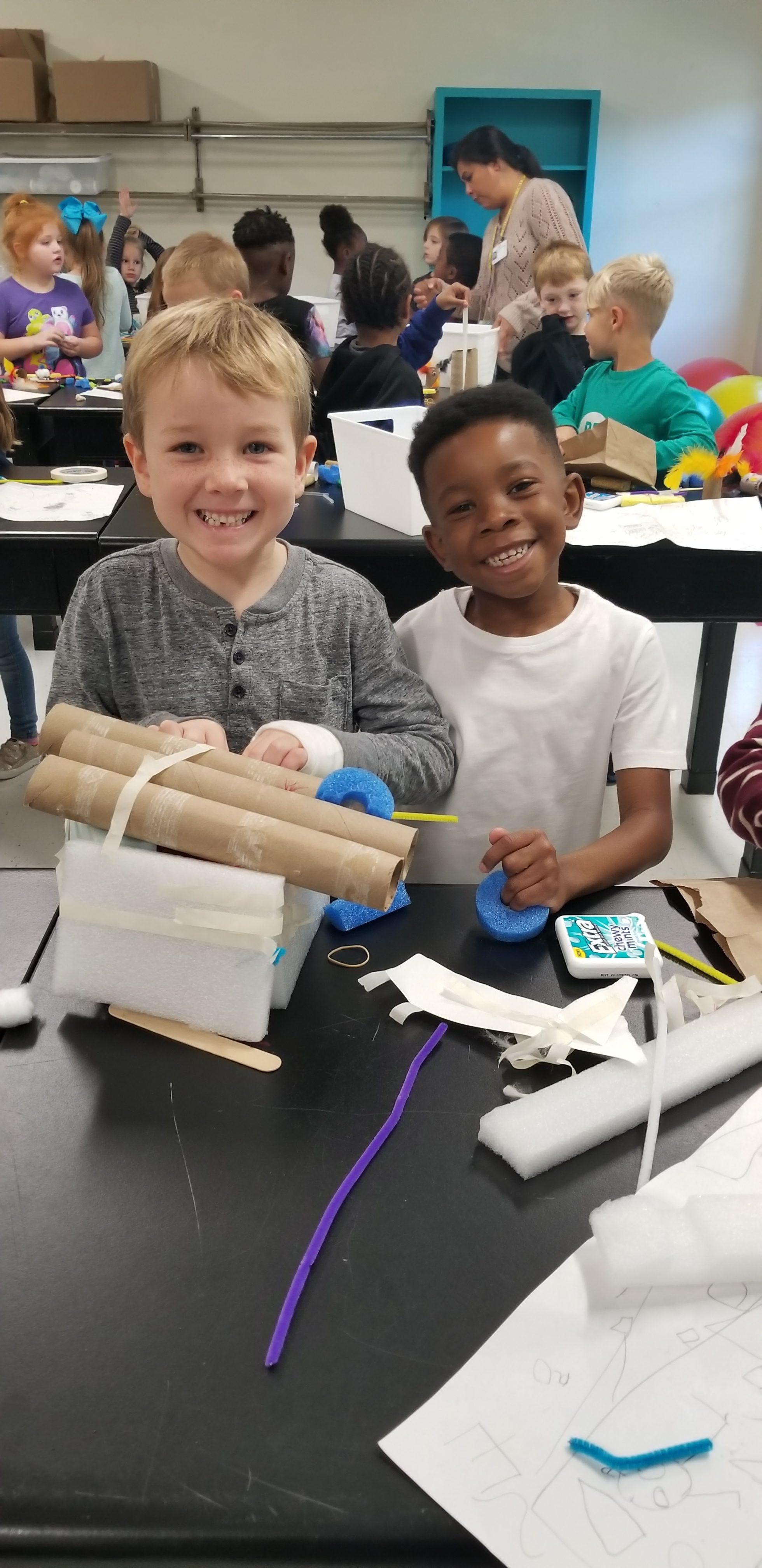 Kings Grant ES, STEM kids