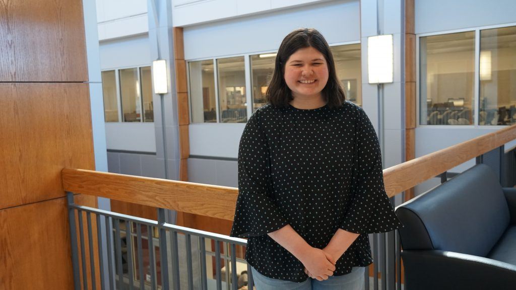 Alexis Osipovs, ATC Advanced Software and Game Development student, was selected as the 2019 Virginia Affiliate Honorable Mention of the National Center for Women & Information Technology (NCWIT) for her outstanding leadership and exceptional academic history.