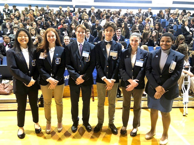 Kempsville students earned 146 medals at the DECA District Leadership Conference