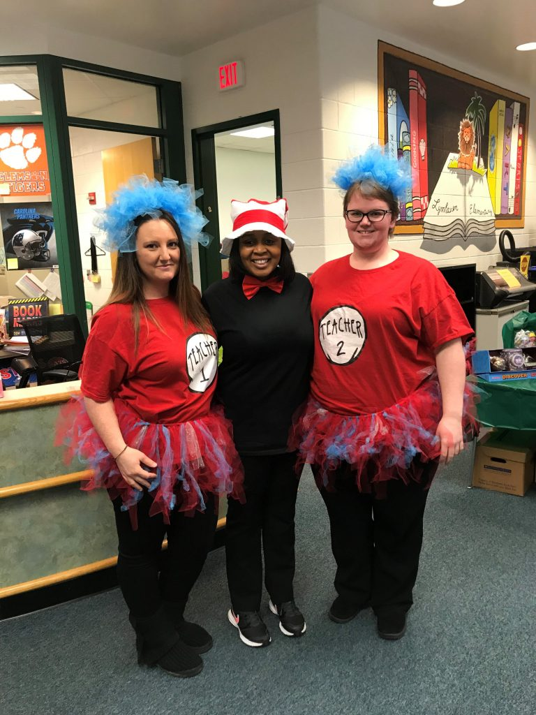 Lynnhaven Elementary School staff celebrated Storybook Character Day.
