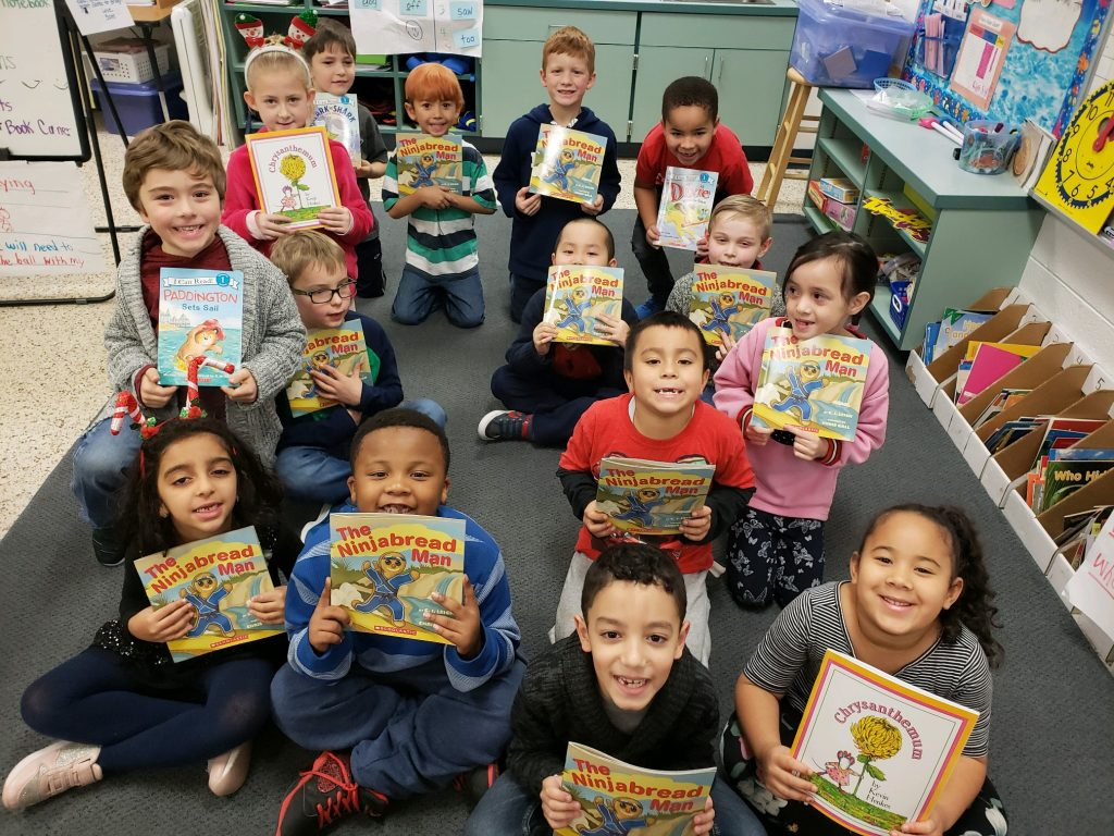 Malibu Elementary School first-graders get free books every month thanks to $9 donations.