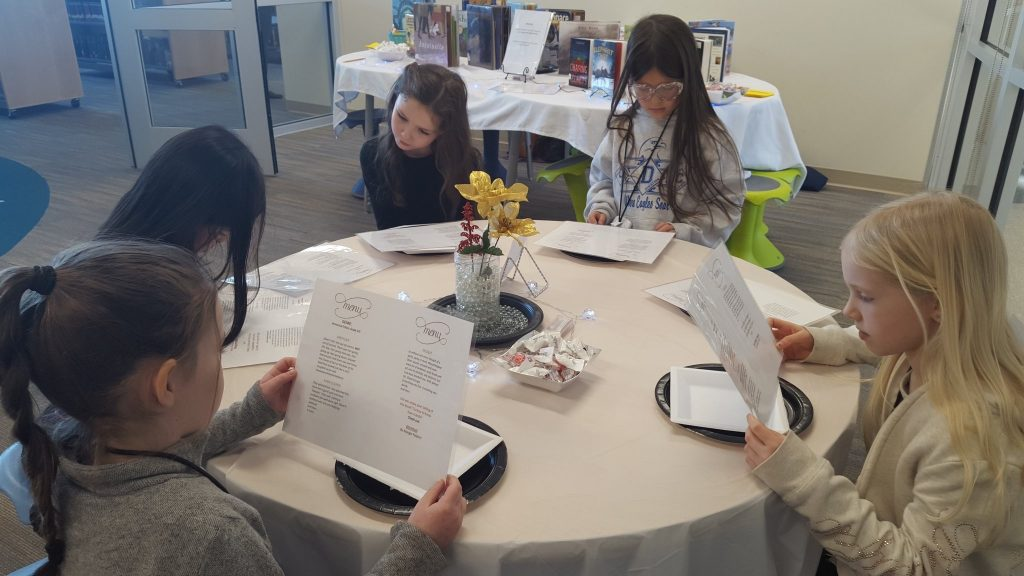 Old Donation School celebrated Reading Month with a book tasting.