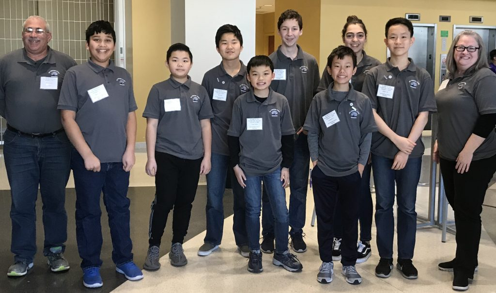 The Old Donation School Mathletes competed in the Tidewater Math Counts Competition. Congratulations to the ODS MathCounts team for winning the Tidewater Chapter of the MathCounts competition.