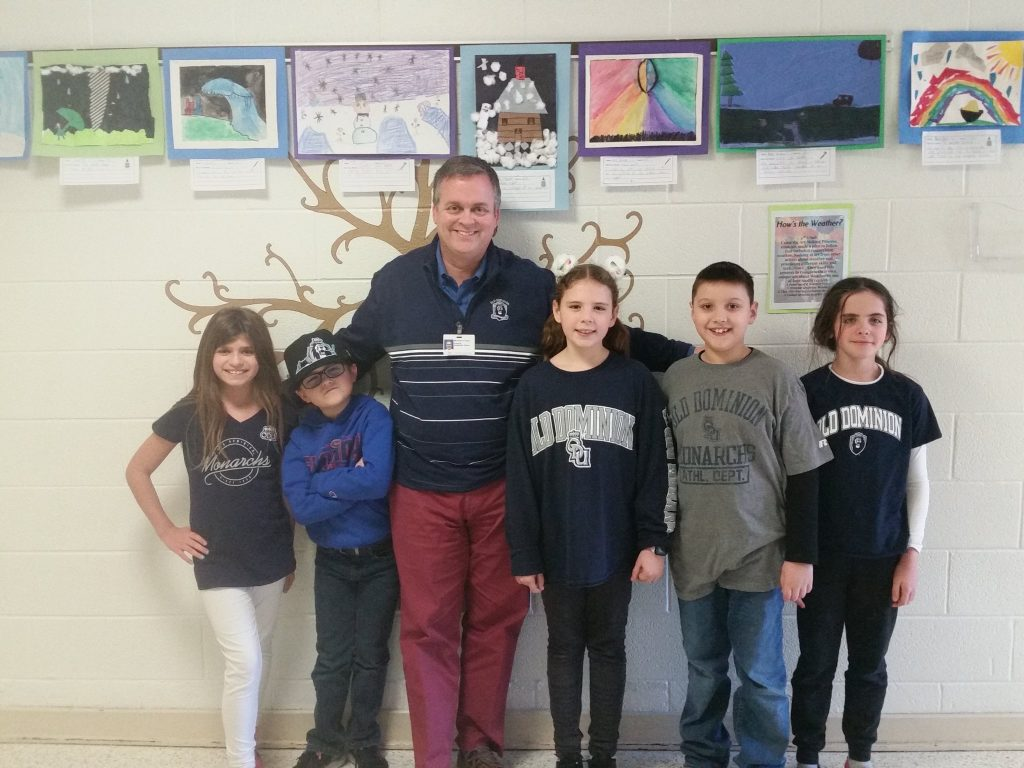 Providence Elementary School students celebrated College Day as part of Kindness Week.