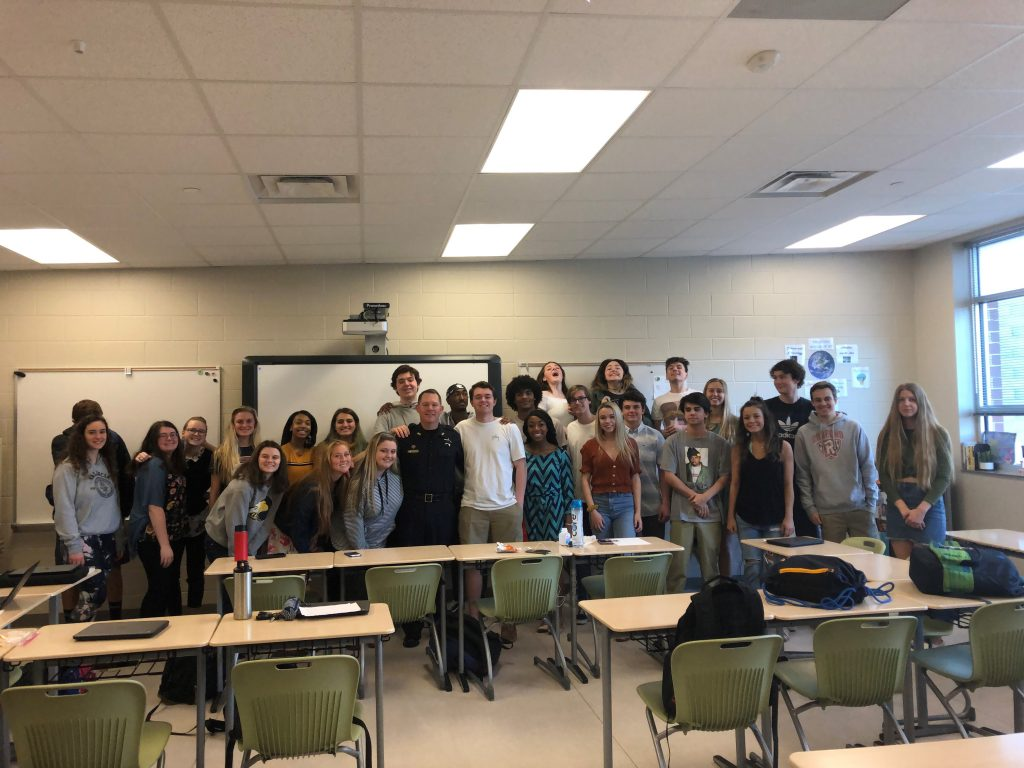Kellam High School's Public Speaking students have organized a student-led speaker series.