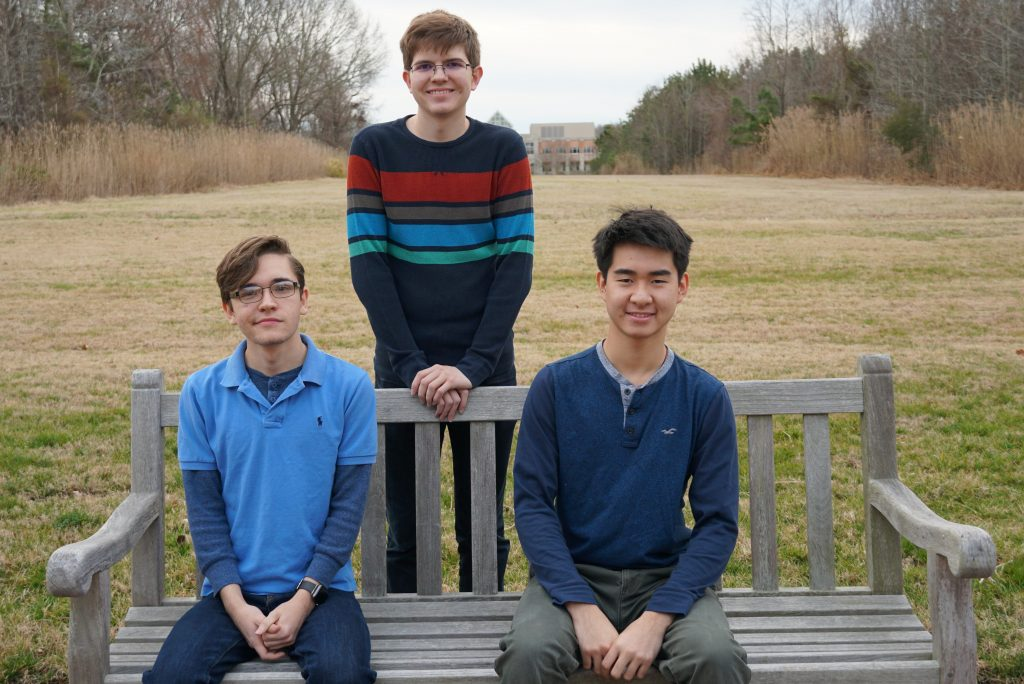 ATC students Charles Doss, Derek Tran and William Barker are participating in the Engineer Your World curriculum created by the University of Texas at Austin. Upon successful completion, the students will receive an official Texas transcript with three credit hours of college credit.