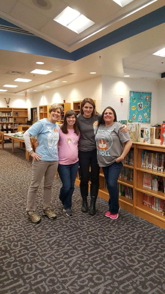 """Brookwood Elementary School kicked of it's One School, One Book event with """"The World According to Humphrey."""""""