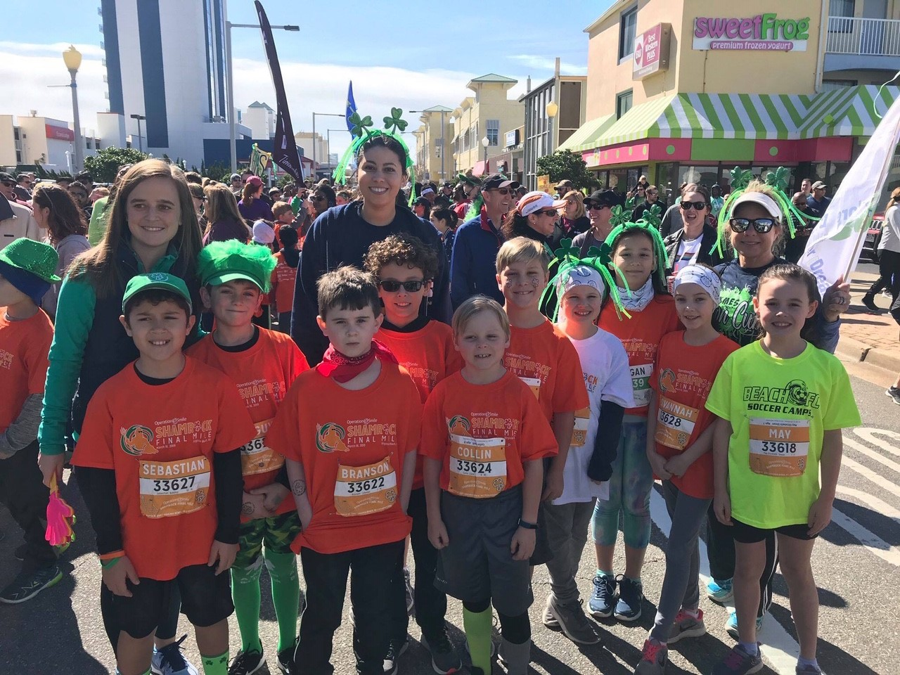 Kempsville Meadows was represented at the Shamrock Operation Smile Final Mile.