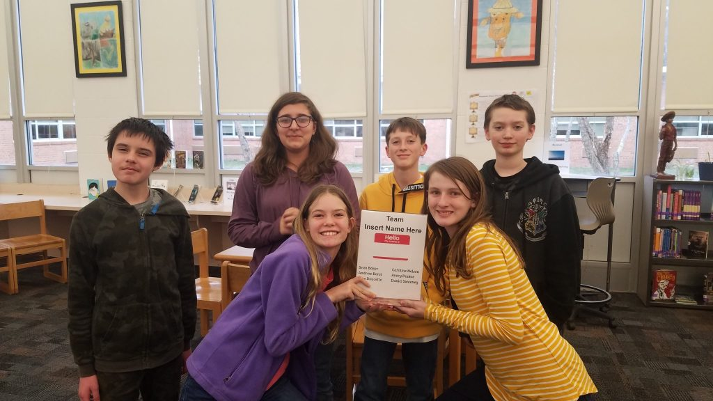 Princess Anne Middle School Library hosted its first Battle of the Books Competition . The winning team was Sean Baker, Andrew Borst, Rose Doucette, Caroline Nelson, Avery Peskoe and Daniel Sweeney.