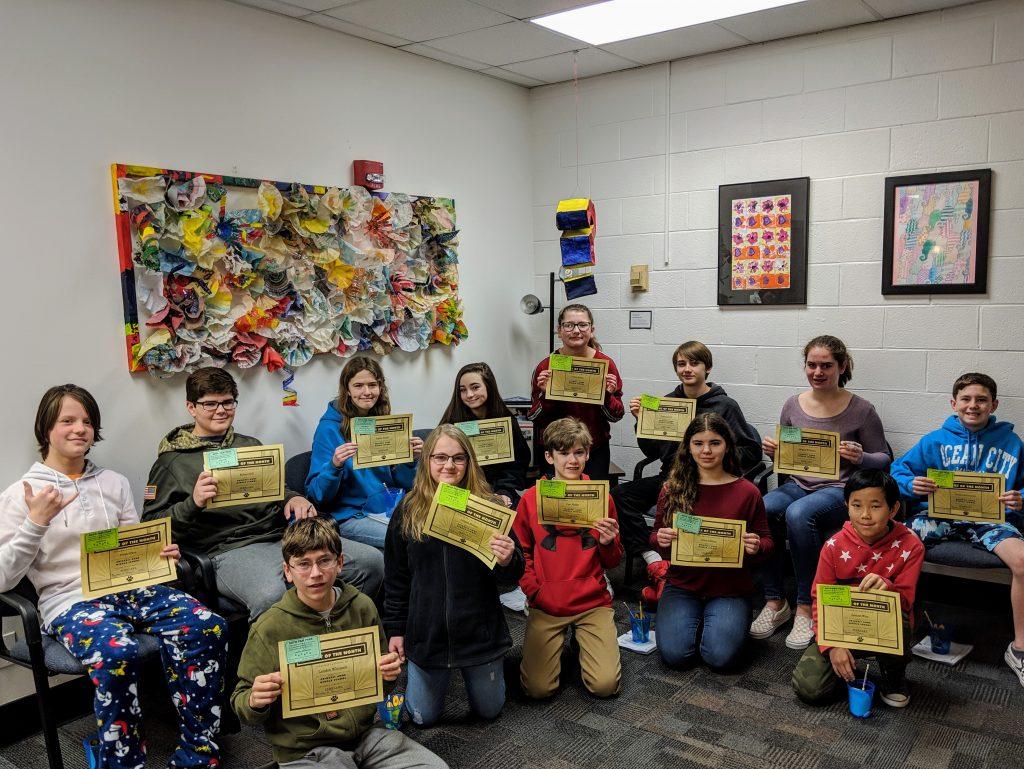 Congratulations to the Princess Anne Middle School Students of the Month for February.