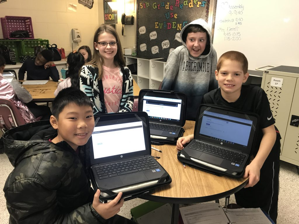Tallwood Elementary School students enjoyed Digital Learning Day.