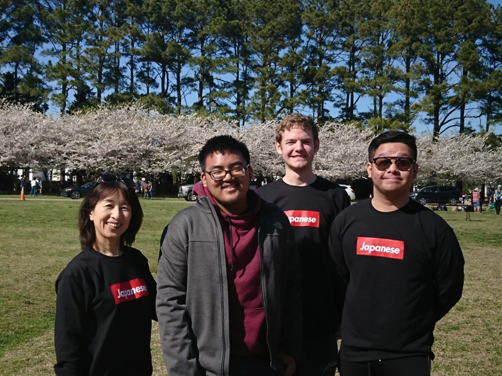 World Language students participated in the Cherry Blossom Festival in Washington D.C.