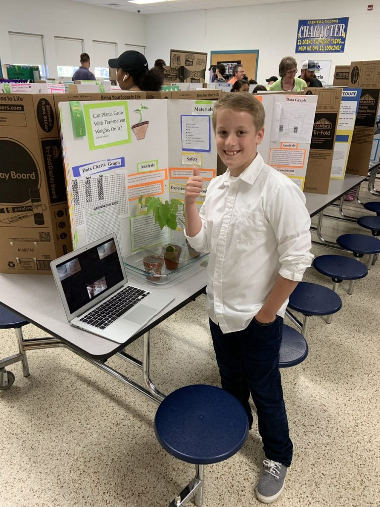 Fairfield Elementary School held its annual Science showcase, where students used the scientific method to explore real world questions by creating and presenting experiments.