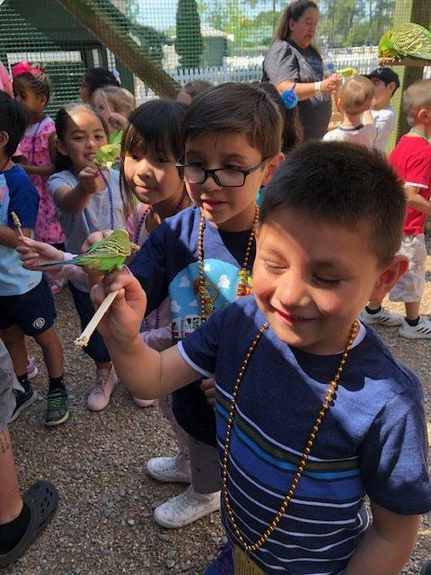 Glenwood Elementary School Kindergarteners visited Hunt Club Farm to explore animal and plant habitats.