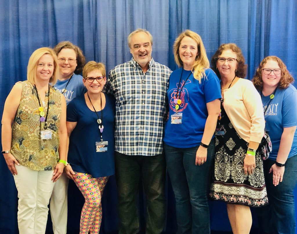 Kempsville Elementary staff members were also volunteers for national speaker and media sensation Gerry Brooks.