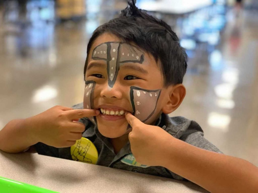 Corporate Landing student Liam Marcial enjoyed the Fifth Annual Deaf and Hard of Hearing Family Fund Day Camp.