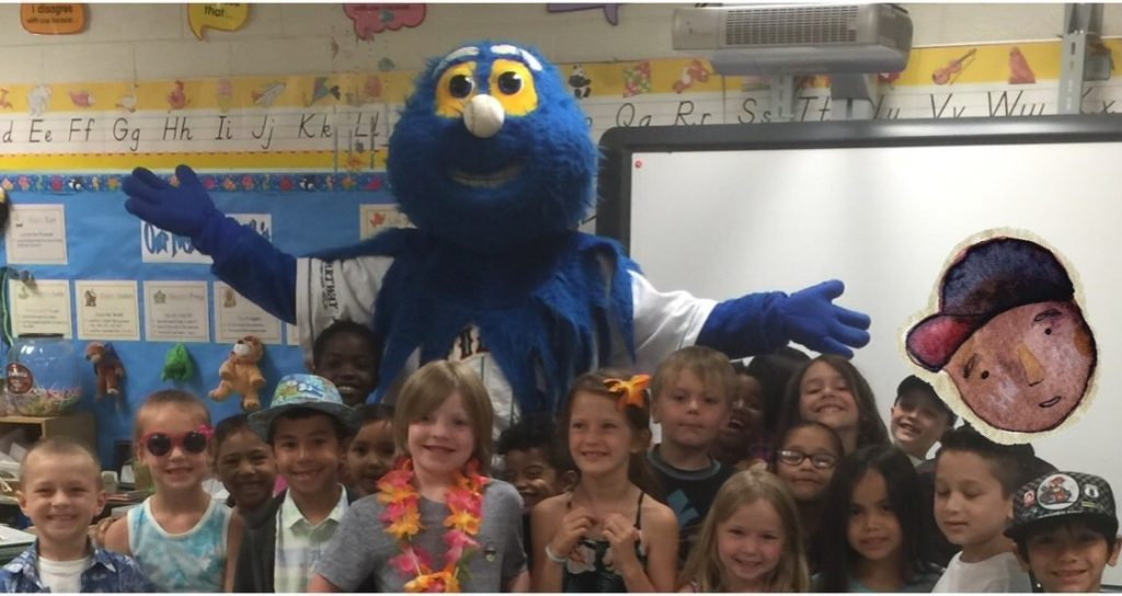 First grade students at Glenwood Elementary School read 614 books for the Tides Reading program - more books than the other seven Hampton Road schools that participated.